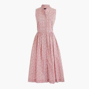 J. Crew Dresses - J crew liberty sleeveless cotton midi dress